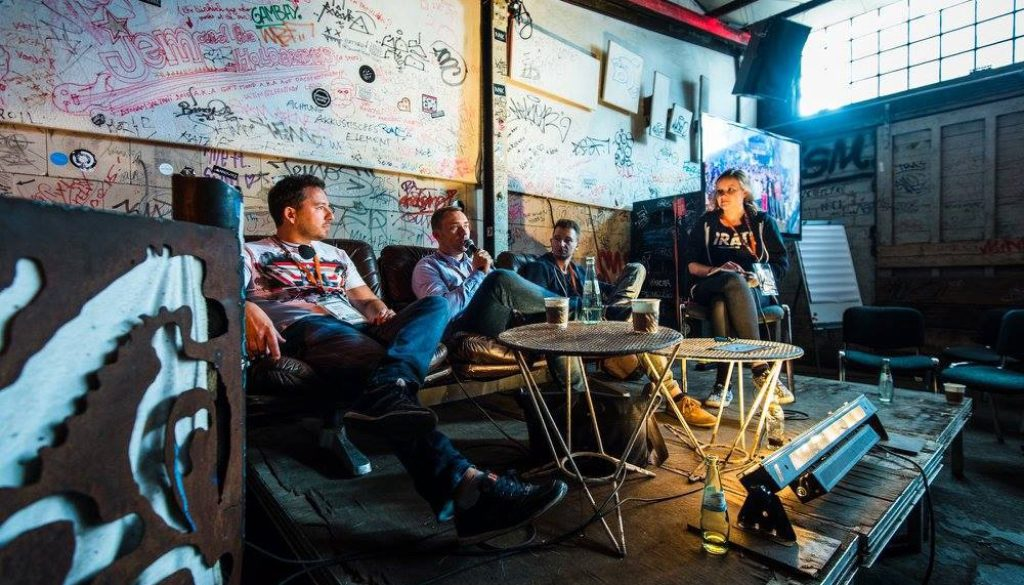 Discussing the state of Eastern European tech ecosystems at PIRATE Summit 2015 — Photo by Dan Taylor, Heisenberg Media