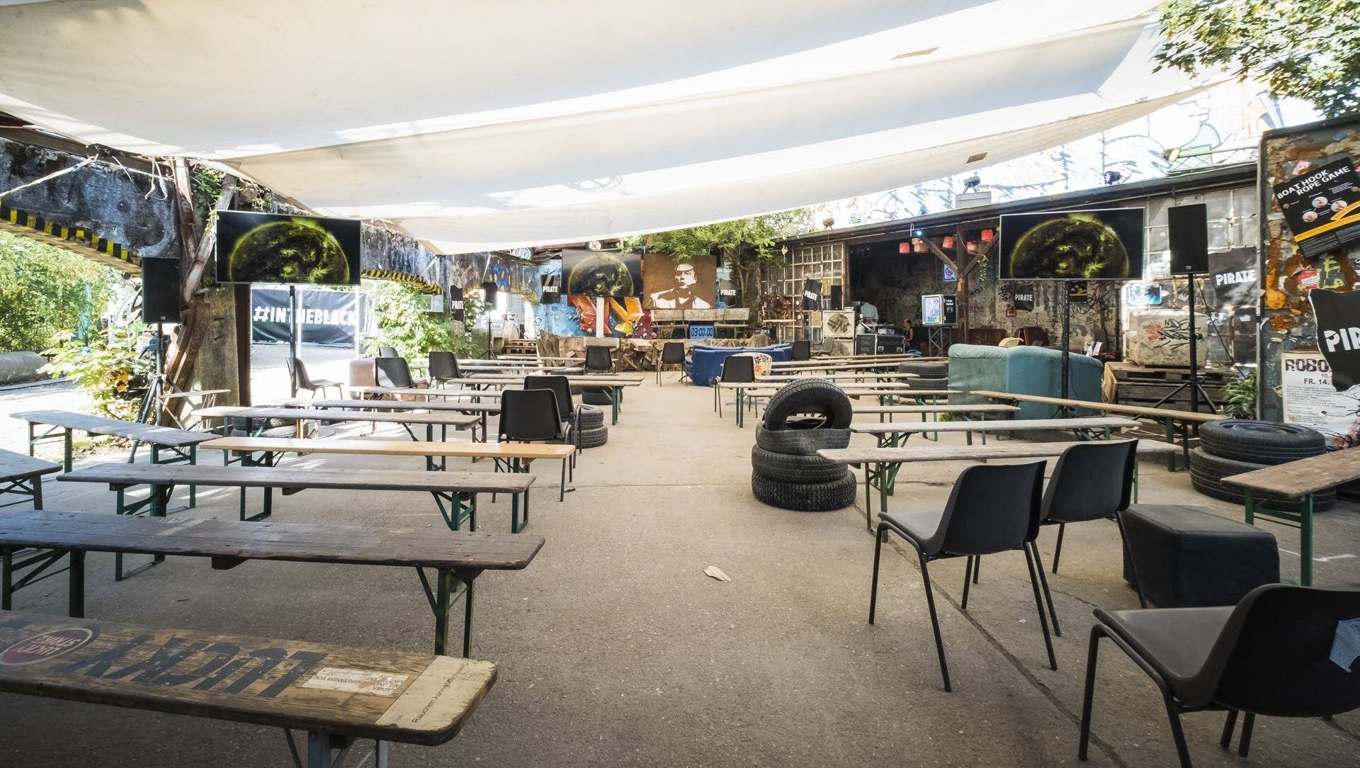 Empty Odonien - PIRATE Summit 2020 postponed